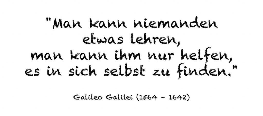 Zitat Galileo Galilei
